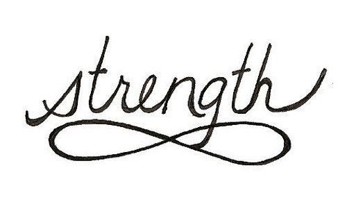Get The Strength Tattoos Designs: Finite Strength Tattoo ~ tattooeve.com Tattoo Design Inspiration