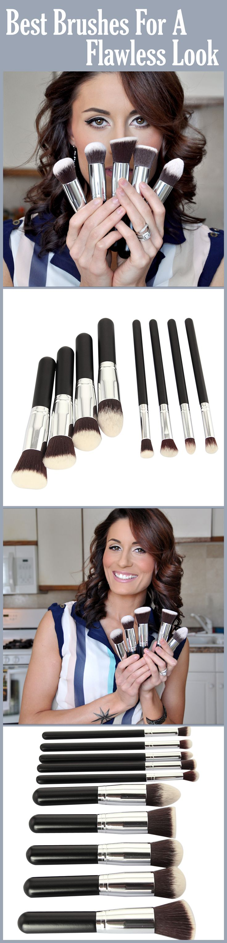 Video link explaining in detail uses of different make up brushes!!