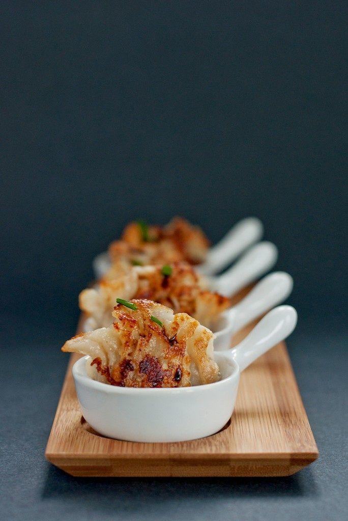 Pan-Fried Dumplings | appetizers | Pinterest
