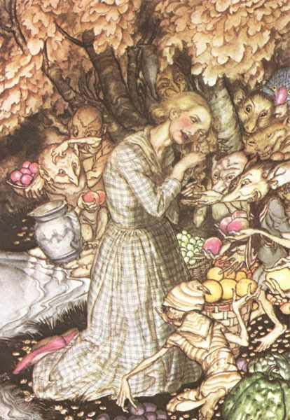 a literary analysis of goblin market by christina rossetti Read expert analysis on goblin market including allusion, character analysis, foreshadowing, historical context, and literary devices at owl eyes.