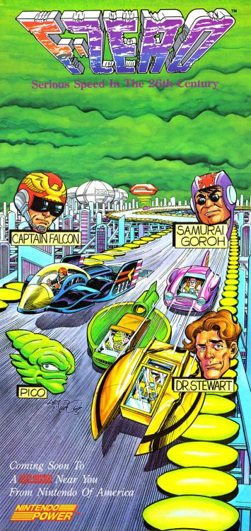 F-ZERO  Nintendo  Super NES  1991  Ask me anything!