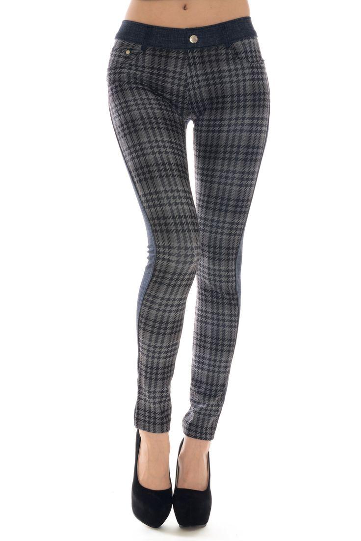 Sharona Plaid Jegging - 211 Best Iconoflash Leggings & Jeggings Images On Pinterest