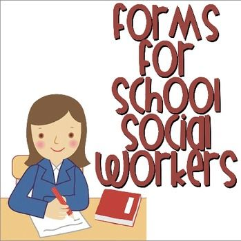 Whether you're a new school social worker just starting out or looking to update the outdated forms you've been using since the mid 90's, this pack is sure to meet your needs!