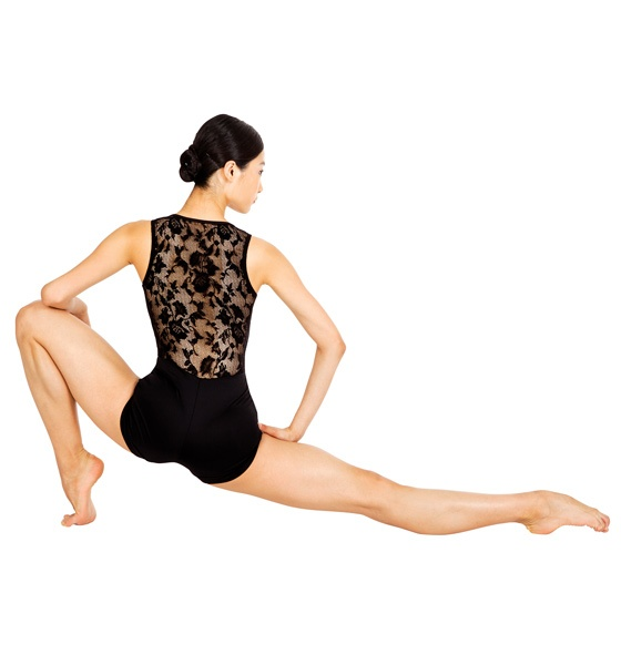 Zhao Wan Ting shoes off her amazing form in a gorgeous Lace Back Shorty Unitard - Style Number: N8698 #SanFranciscoBallet.