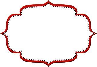 Vermelho Arabesco e Preto – Kit Completo com molduras para convites, rótulos para guloseimas, lembrancinhas e imagens! |Fazendo a Nossa Festa