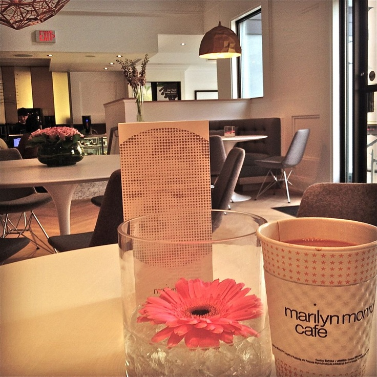 Marilyn Monroe Cafe just a few days after it opened in 2012