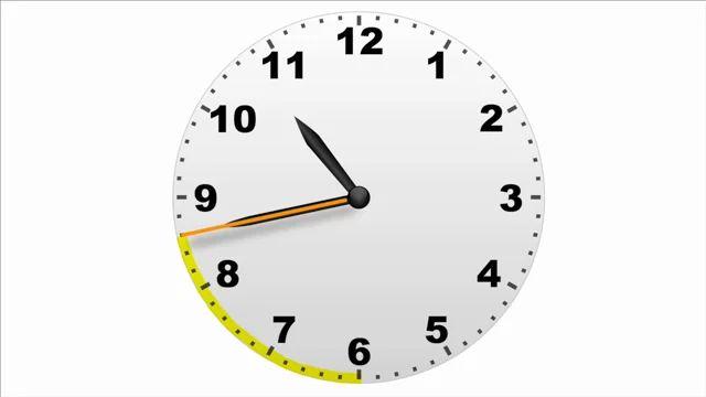 Op de minuut nauwkeurig klokkijken