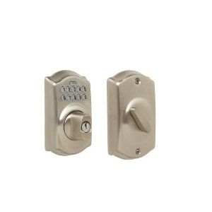 lSave 63% or More on Select Schlage Keypad Deadbolts