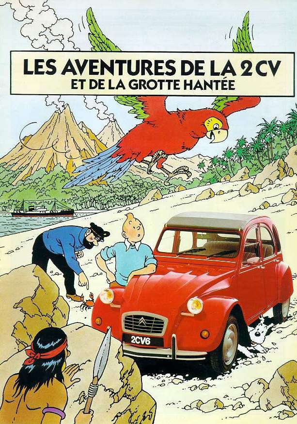 Red 2CV - my first car and my second car...if I could afford it now it would be my car #2 just for sunny summer days!