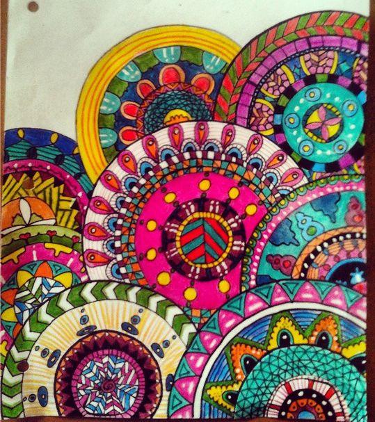 11 best images about mi arte on pinterest dibujo colors - Colores para mandalas ...