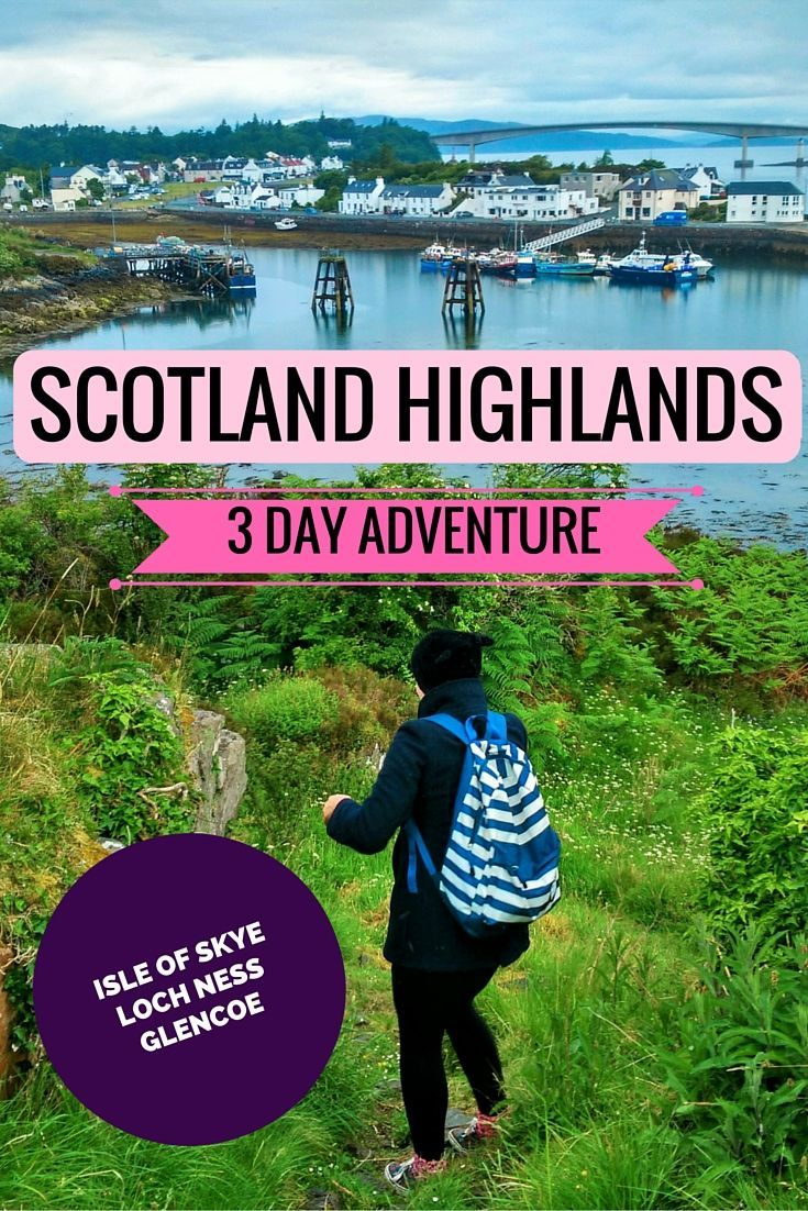 Looking for a spectacular 3 day adventure in the magnificent Scotland Highlands? Prepare to ooh and aah and oh! for what lies ahead of you!