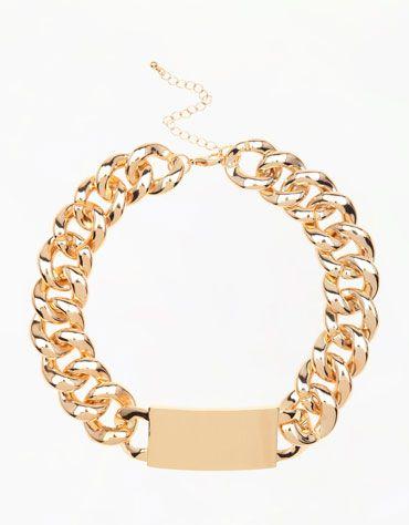 Bershka España - Collar cadena oversize