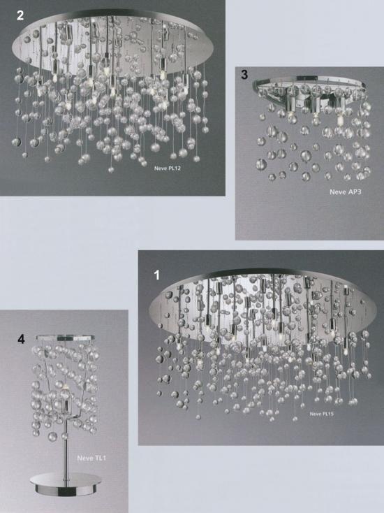 Svietidlá.com - Ideal-lux - Neve - Moderné svietidlá - svetlá, osvetlenie, lampy, žiarovky, lustre, LED