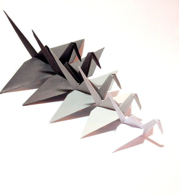 origami crane mobile instructions