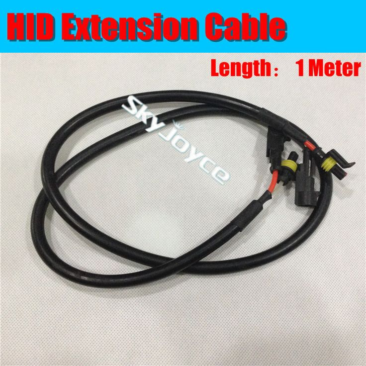 best ideas about power wire hide cable cords 20x 100cm 1 meter hid power wire extension cable wire cord lead harness for hid