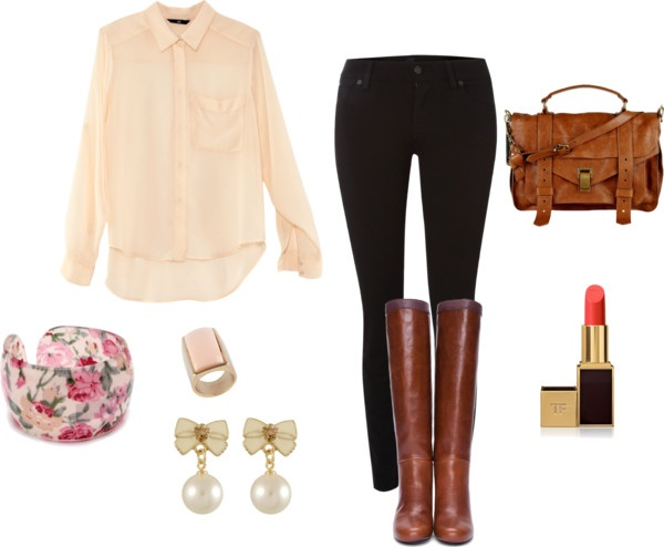"""""""First Day of School Outfit"""" by michaela-9-5 on Polyvore – school clothes"""