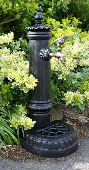 """Pemberley"" Garden Faucet or Tap stand - Garden Faucet Stands - Garden & Outdoor Living - Catalogue | Black Country Metal Works"