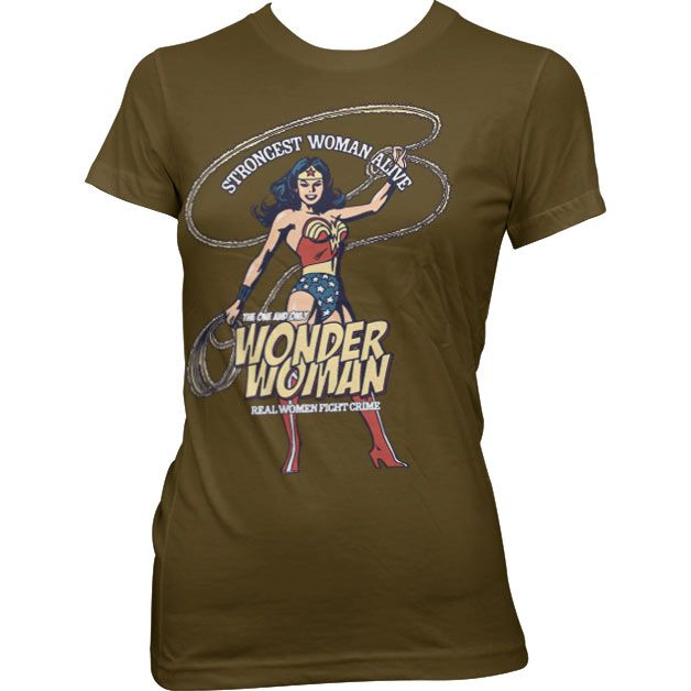 Wonder Woman - Strongest Woman Alive T-Shirt
