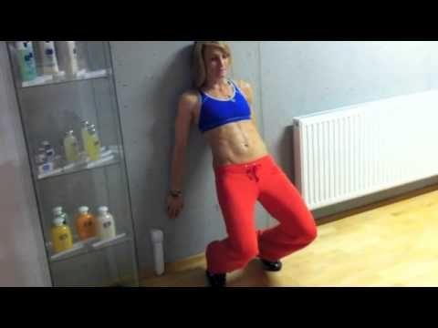 Ako efektivne precvicovat svaly oslabeneho kolena - YouTube