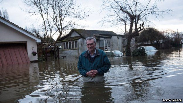Flooding in England - worst since records have been kept in late 1700's