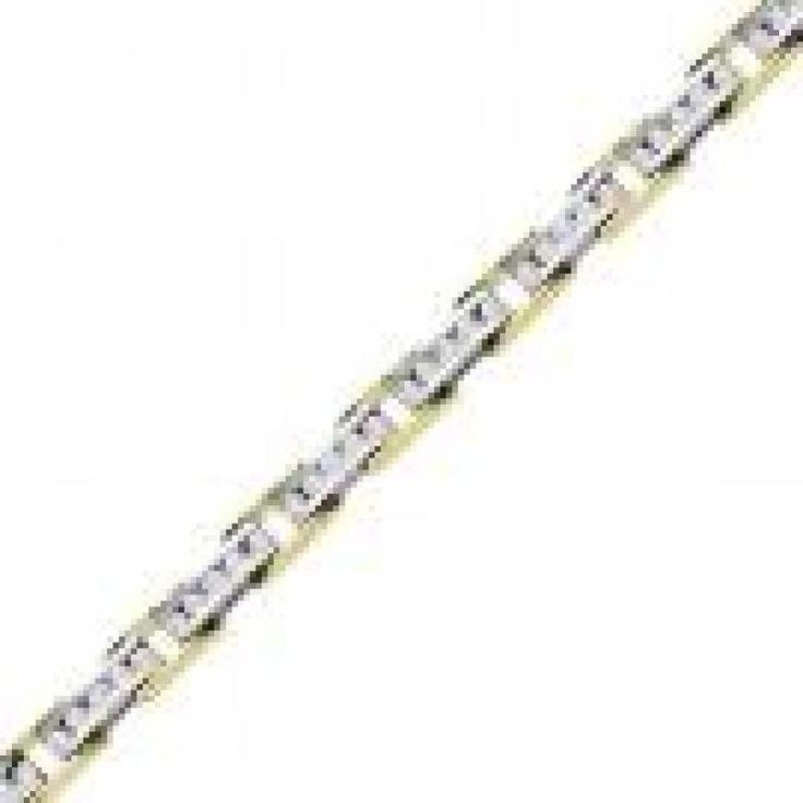 Hoppe Jewelers - 65RD D=2.01CTW 14KTT CHNL LINK BRAC, $3299.0 (http://www.hoppejewelers.com/65rd-d-2-01ctw-14ktt-chnl-link-brac/)