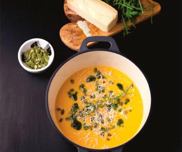 Recept: Mustig pumpasoppa med ingefära och apelsin | House Magazine