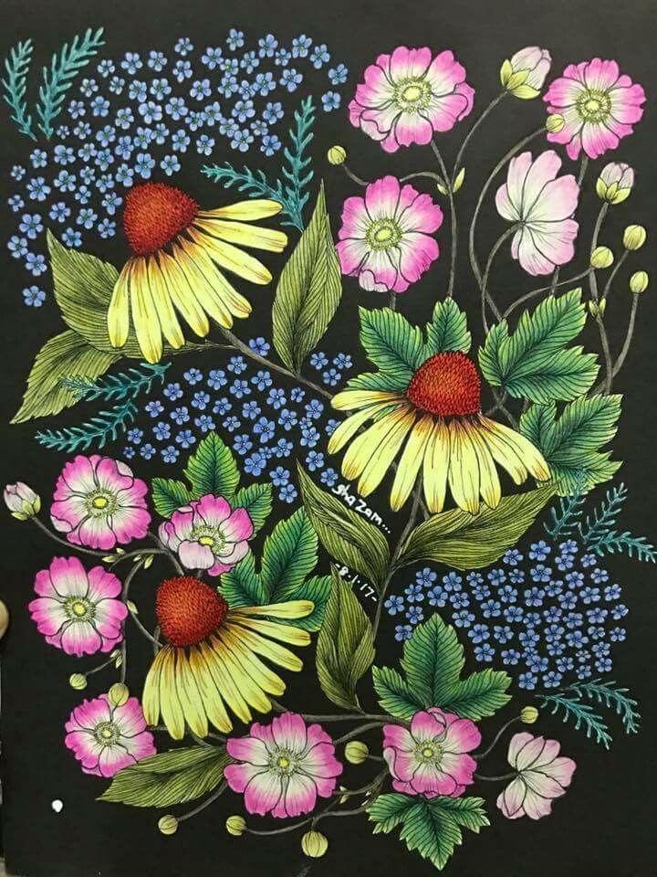 199 best Blomster Mandala aka Twilight