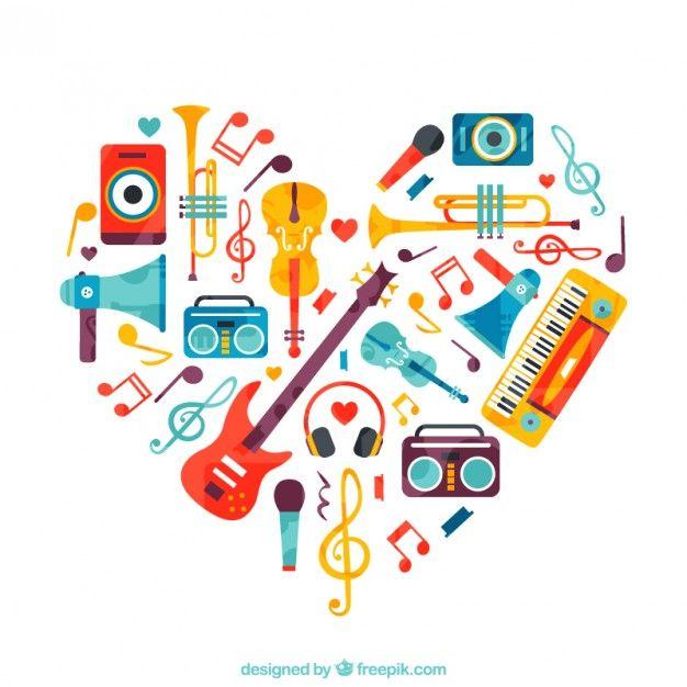 Corazón de instrumentos                                                                                                                                                                                 Más