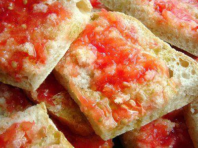Pan tumaca - pain frotté à la tomate
