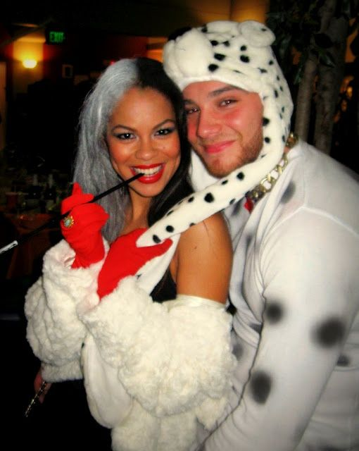halloween couples costume disney characters cruella dalmation