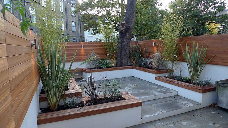 Modern Courtyard Bench Google Search Urban Garden 400 x 300
