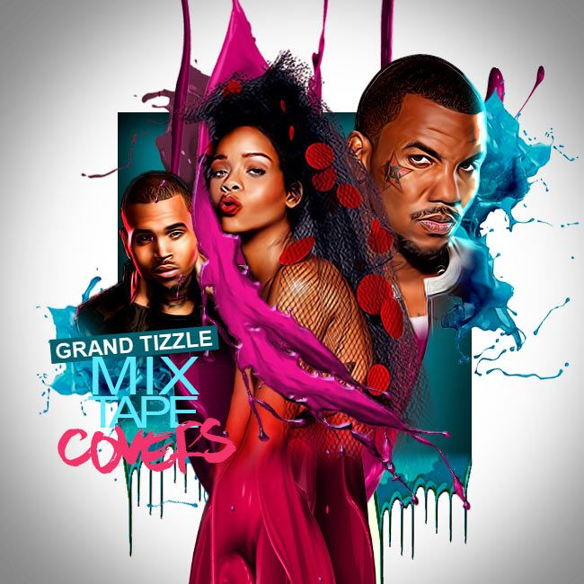 How To Make Mixtape Covers Mixtape Graphics In Photoshop In 2020 Mixtape Cover Photoshop Mixtape