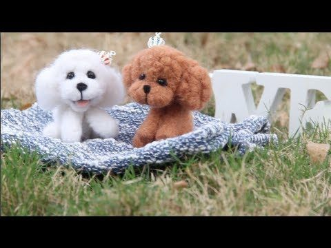 DIY Cute Poodle Plushie - YouTube
