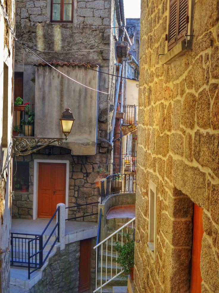 Sartene, old town