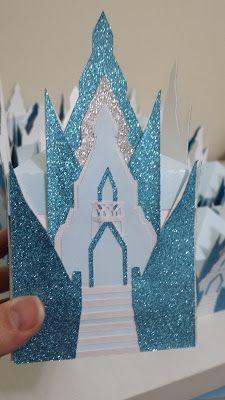 Cantinho da Sonne - cantinhodasonne@hotmail.com: Caixinha Castelo Frozen