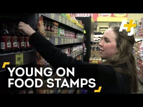 I have a Master's degree and a full-time job—and I'm still applying for food stamps