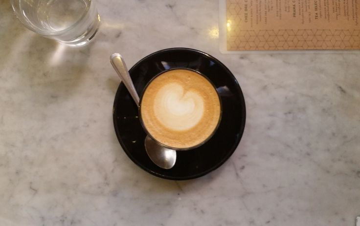 Look at this brilliant coffee!