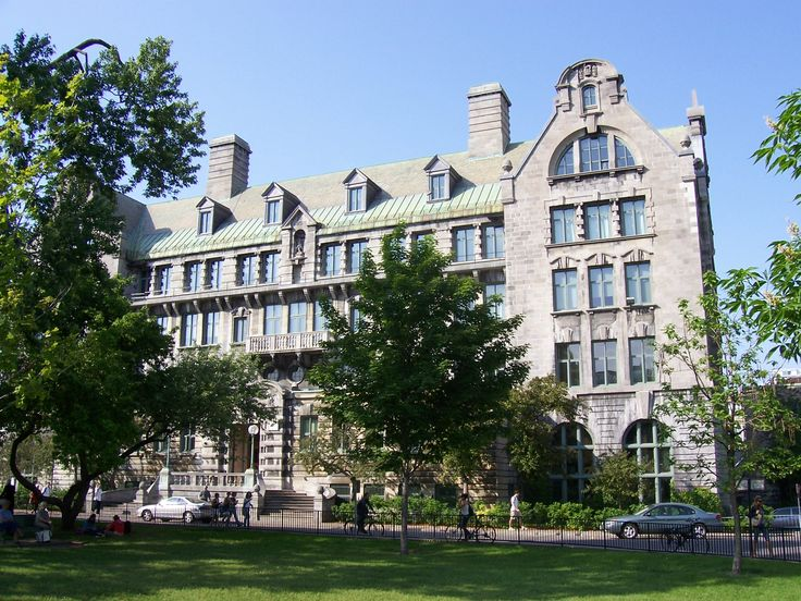 "McGill University's MacDonald Engineering Building. Semi-Weathering Green roofing slate, 16"" x 8"" x 3/8"""