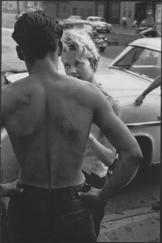 love this girl... this is a series of photographs taken of 1950's teenaged gangsters.