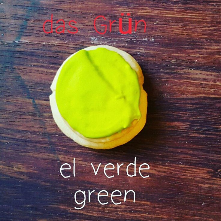 das Grün=el verde=green  What comes to mind when you think of green?  Comment below!  LEARN GERMAN WITH COOKIES! #green #Grün #verde #colores #farbe #farben #colors #colours #cookies #learngermanwithcookies #german #deutsch #german #aleman #learn #ideas #original #yum #iGermany #Deutschland #Alemania #aupair #fun #funny #cool #münchen #munich #hamburg