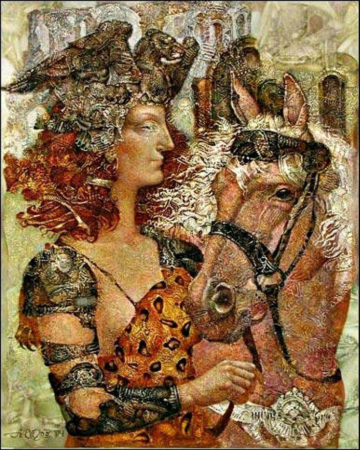 Alexander Sigov (1955-...), Russian surrealist painter.