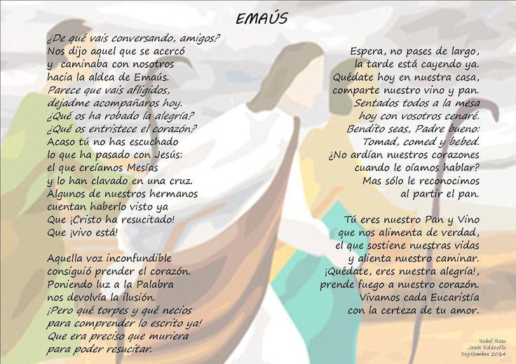 LETRA EL PEREGRINO DE EMAÚS - Canciones Religiosas ...