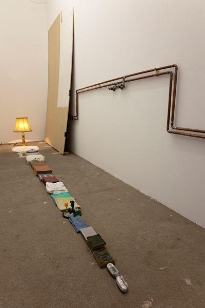 Bathroom Wall | PetritHalilaj ,(2008)