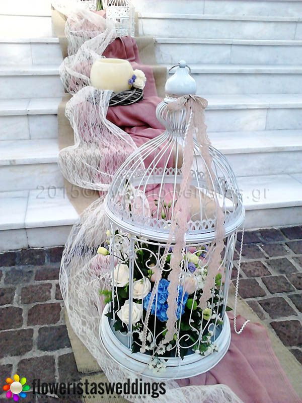 Floweristas Weddings | Εξωτερικός Στολισμός Εκκλησίας