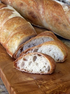 Julia Child's Baguette Recipe #CheatOnGreek #Contest