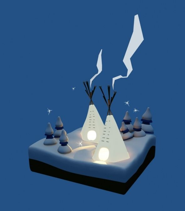 Tipis.ch by Pierre-Abraham Rochat, via Behance