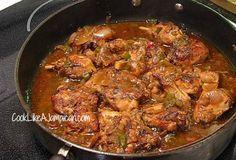 Jamaican Brown Stew Chicken Recipe | Cook Like a Jamaican