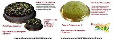 Torte al pistacchio