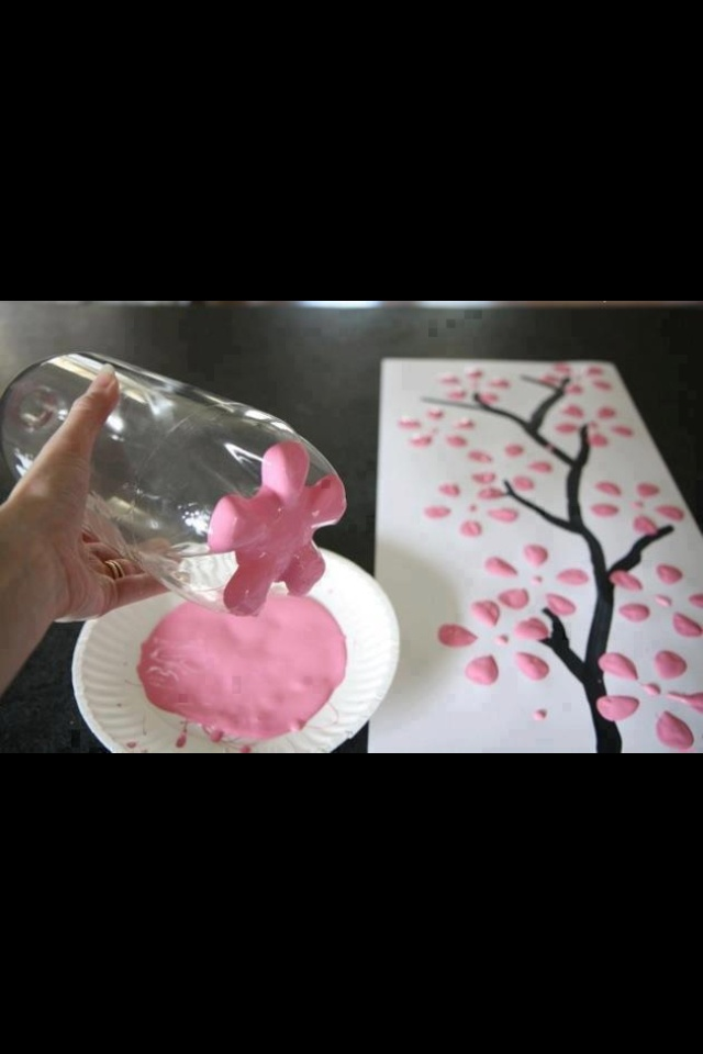 Great way to paint flowers