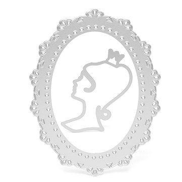 Taglio della ragazza fai da te muore Stencil Scrapbooking Album di carta della carta del mestiere di goffratura Vendita - Banggood.com